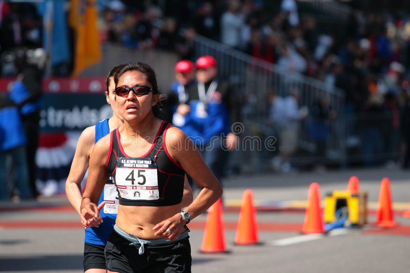 Download 2008 US Women's Olympic Marathon Trials, Boston Editorial Photo - Image: 4952506