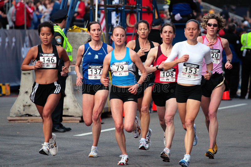Download 2008 US Women's Olympic Marathon Trials, Boston Editorial Photo - Image: 4957226