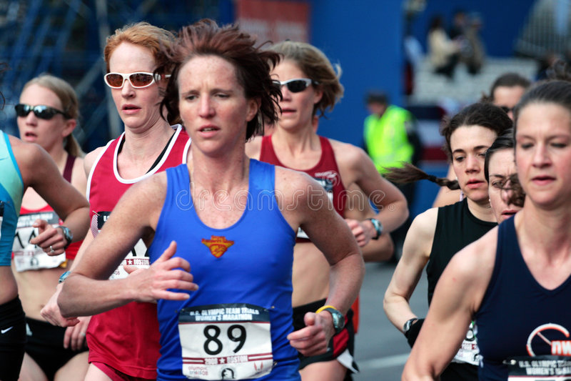 Download 2008 US Women's Olympic Marathon Trials, Boston Editorial Image - Image: 4957260