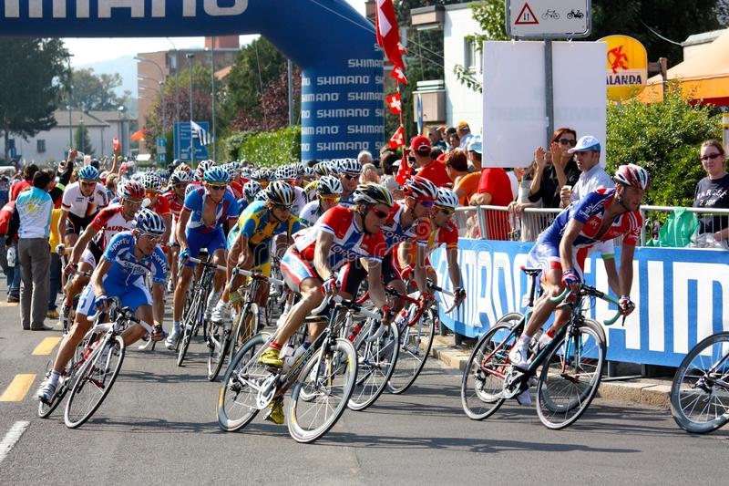 2009个冠军自行车道uci世界 免版税库存图片