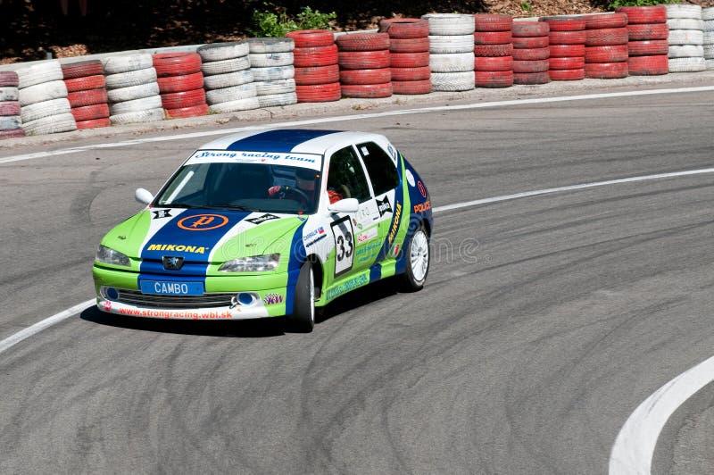 2009台中央冠军上升欧洲小山 免版税图库摄影