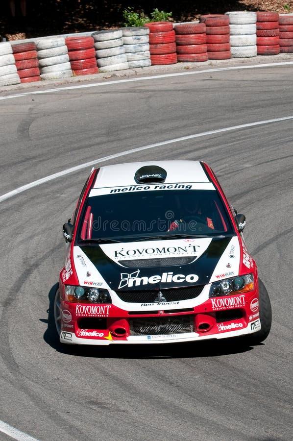 2009台中央冠军上升欧洲小山 库存图片
