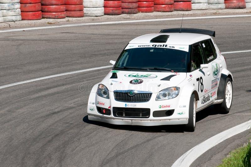 2009台中央冠军上升欧洲小山 免版税库存照片