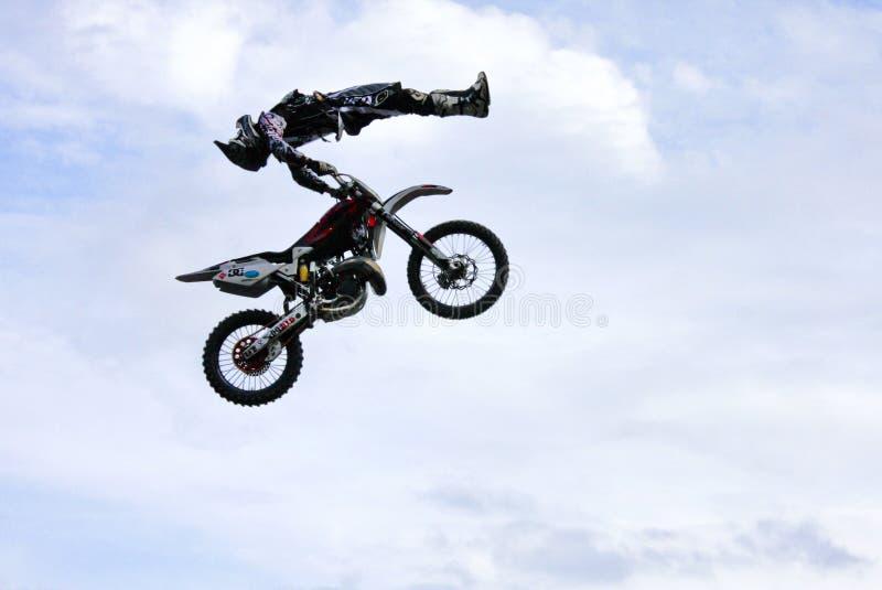 2009年自由式摩托车越野赛 库存图片