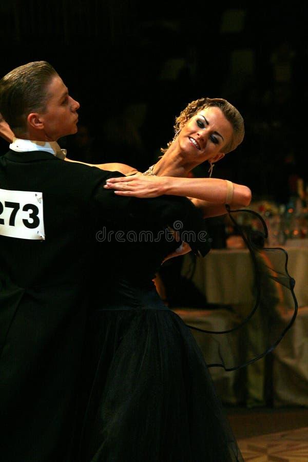 2009年舞厅舞 库存照片