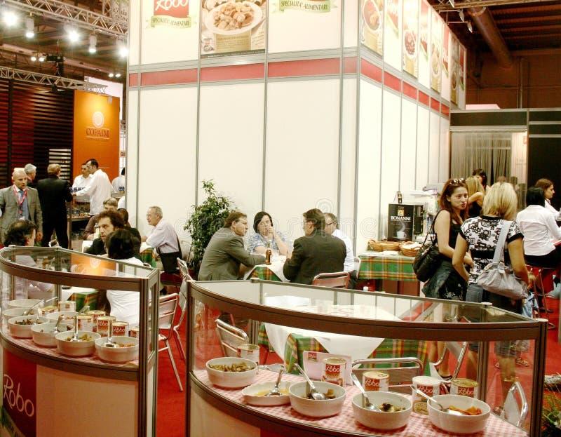 2009年陈列食物米兰tuttofood世界 免版税图库摄影