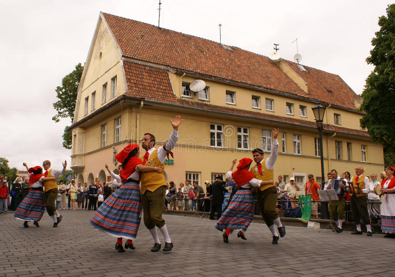2009年europeade klaipeda 图库摄影