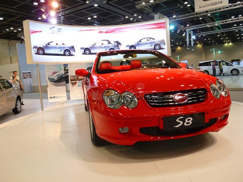 2009辆汽车迪拜豪华motorshow 免版税图库摄影