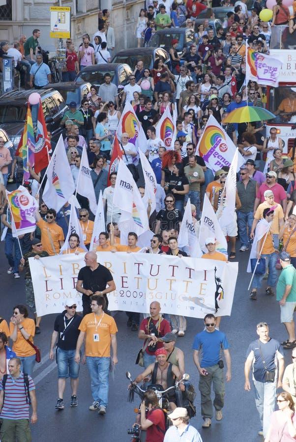2009 людей гордятся roma стоковые фотографии rf