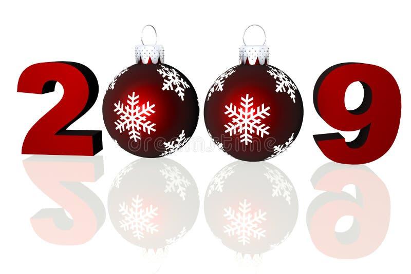 Download 2009 праздников иллюстрация штока. иллюстрации насчитывающей номер - 6861396