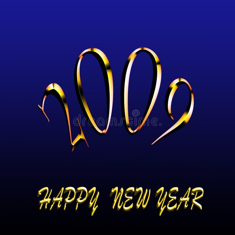 2009 счастливых Новый Год стоковое изображение