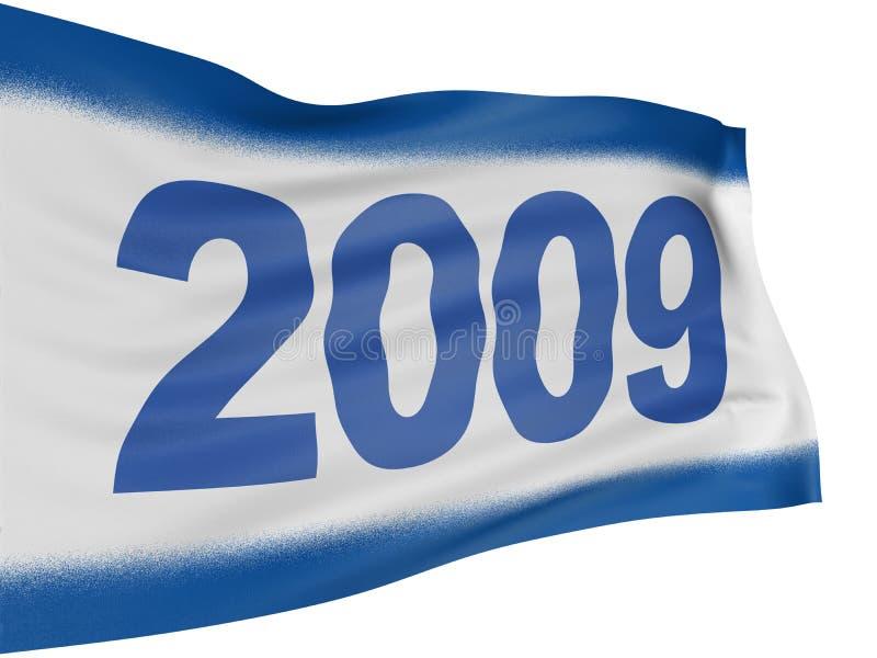 2009 3d标志 库存照片