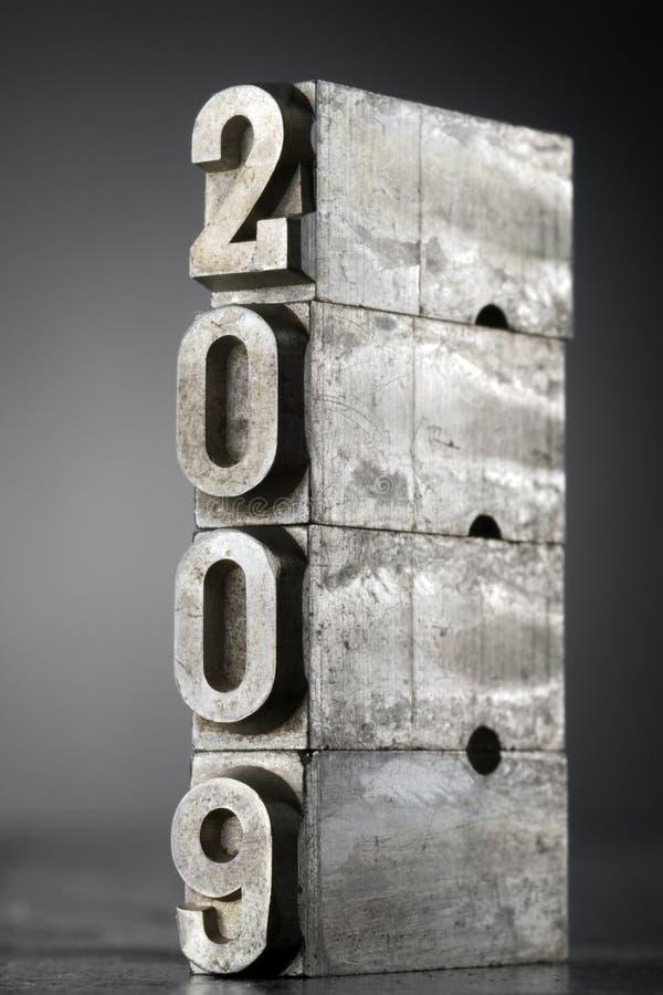 2009 obraz royalty free