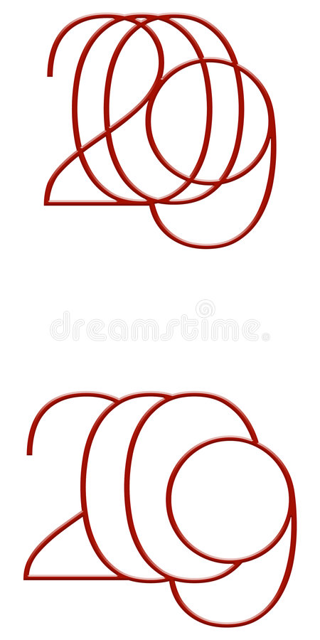 Download 2009 stock illustration. Image of circle, business, figures - 7157849
