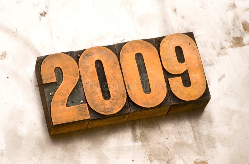 2009 imagem de stock