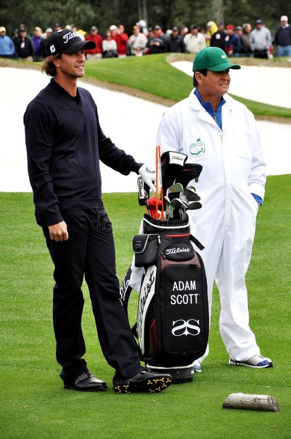 2009 Adam ćwiczy Scott zdjęcie stock