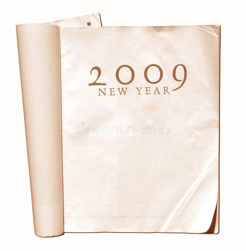 2009 anos imagem de stock royalty free