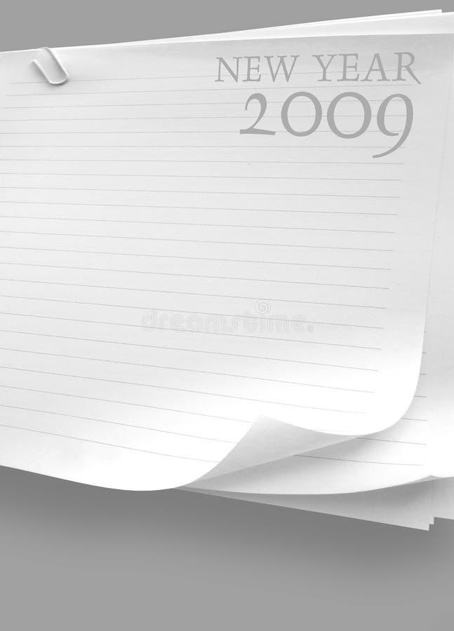 2009 anos ilustração royalty free