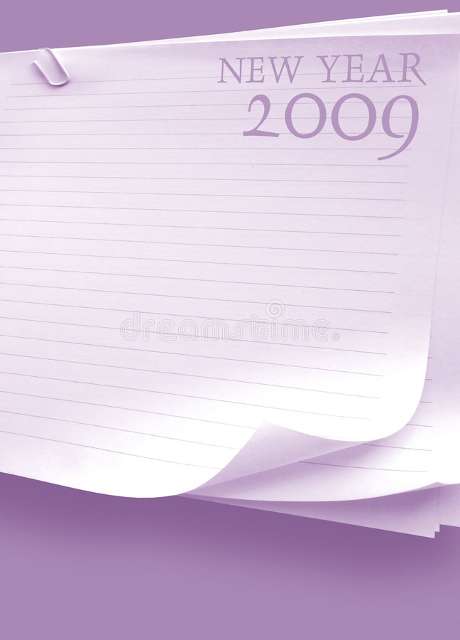 2009 ans illustration stock