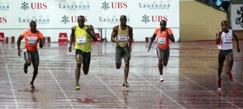 2009 athletissima rygiel obraz stock