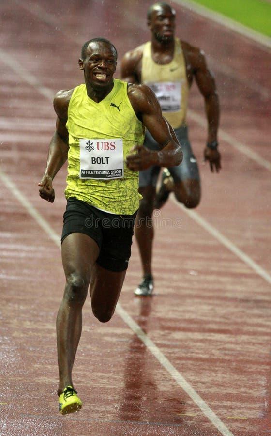 2009 athletissima rygiel zdjęcie stock