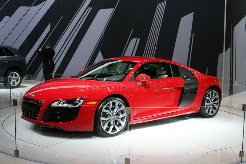 Download The 2009 AUDI R8 editorial stock photo. Image of chicago - 8249248