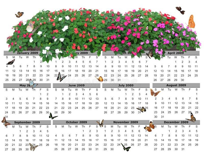 2009 Calendar royalty free stock photos
