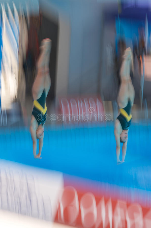 2009 campeonatos do mundo de FINA fotografia de stock royalty free