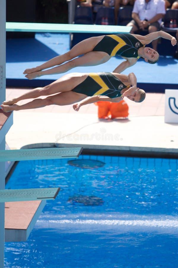2009 campeonatos do mundo de FINA foto de stock