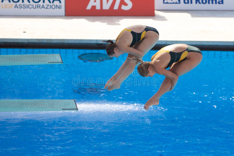 2009 campeonatos do mundo de FINA foto de stock royalty free