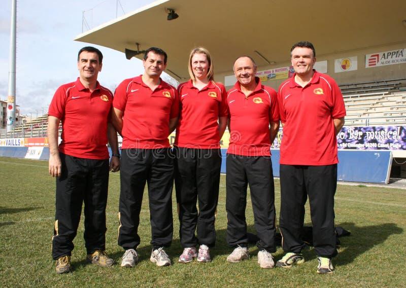 2009 catalans smoka oficjalna fotografii s drużyna obraz stock