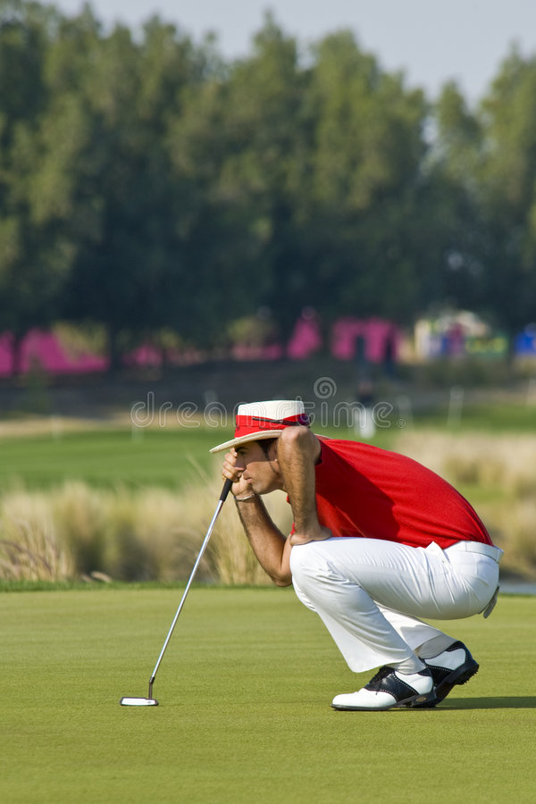 Free 2009 Commercial Bank Qatar Masters Tournament Stock Image - 7900571