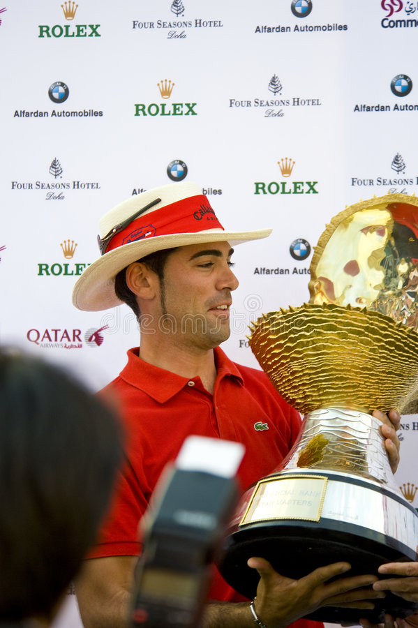 Free 2009 Commercial Bank Qatar Masters Tournament Royalty Free Stock Photography - 7901037