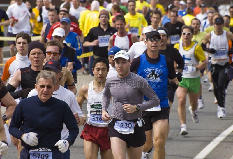 2009 de Marathon van Boston stock fotografie