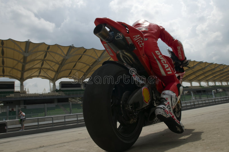 Download 2009 Ducati Marlboro Yamaha MotoGP Nicky Hayden Editorial Stock Image - Image: 8100539