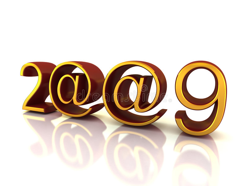 Download 2009 ear signs stock illustration. Illustration of bright - 7276948