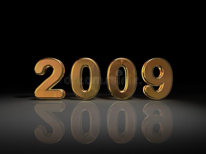 2009 En Oro Fotografía de archivo