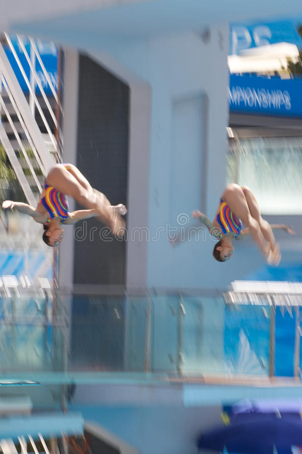 2009 FINA World Championships Editorial Stock Image