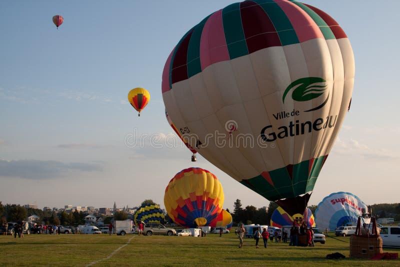 2009 Gatineau Hot Air Balloon Festival stock photo