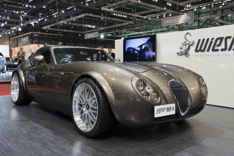 2009 geneva gt mf4 motor roadster show wiessman στοκ εικόνα με δικαίωμα ελεύθερης χρήσης