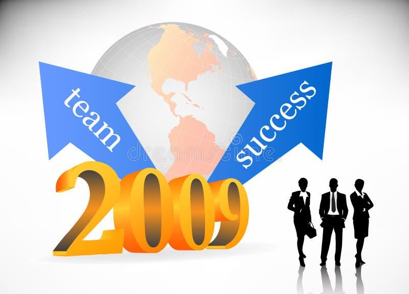 2009 Geschäfte Lizenzfreie Stockfotografie