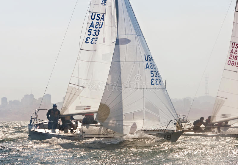 The 2009 J-24 US National Championship royalty free stock image