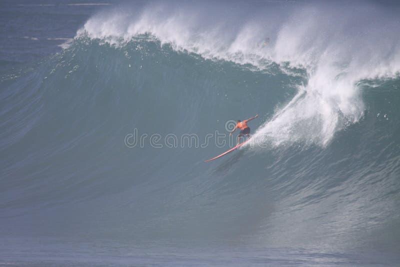 2009 Kwik Eddie Aikau Big Wave Event royalty-vrije stock afbeelding