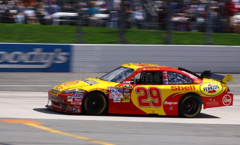 2009 NASCAR - #29 de Harvick imagens de stock