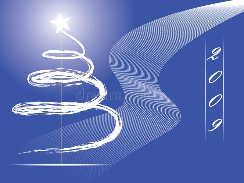 2009 nowy rok ilustracji