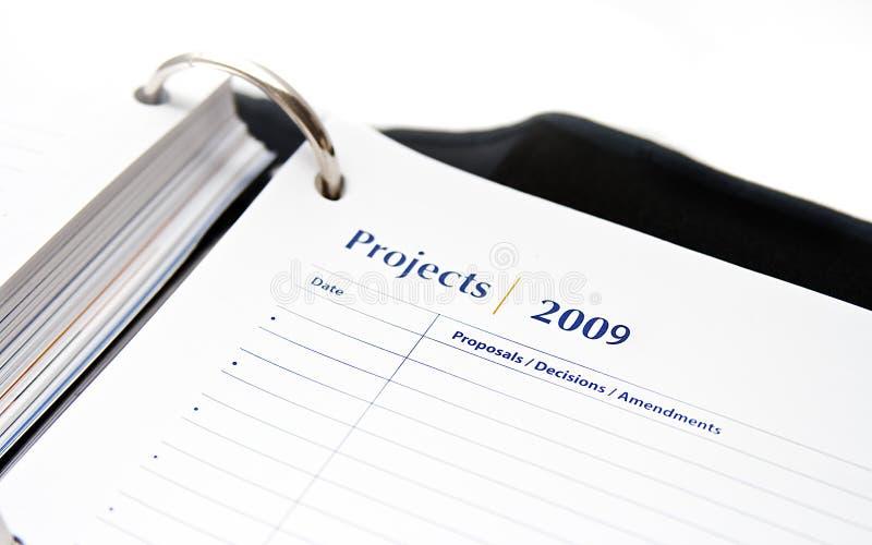 2009 projektów zdjęcia stock