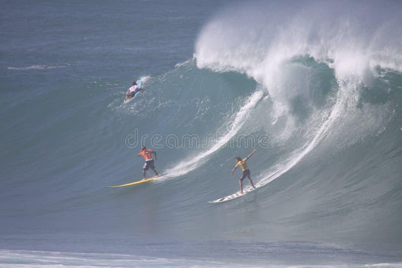 2009 Quicksilver Eddie Aikau Big Wave Event stock photo