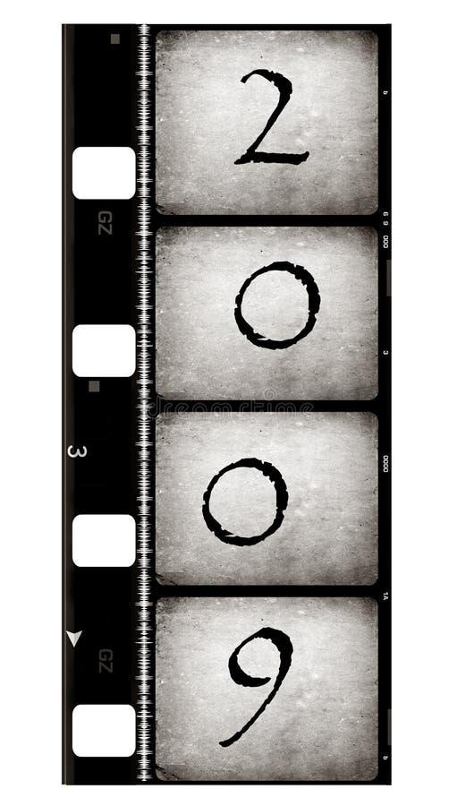2009 starych filmowych zdjęcia stock