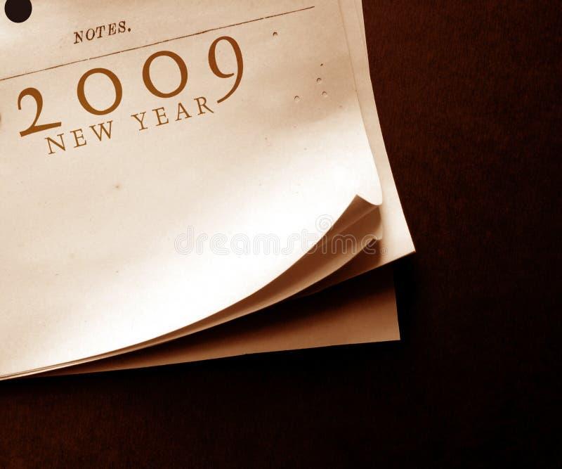2009 starych papierów obraz stock