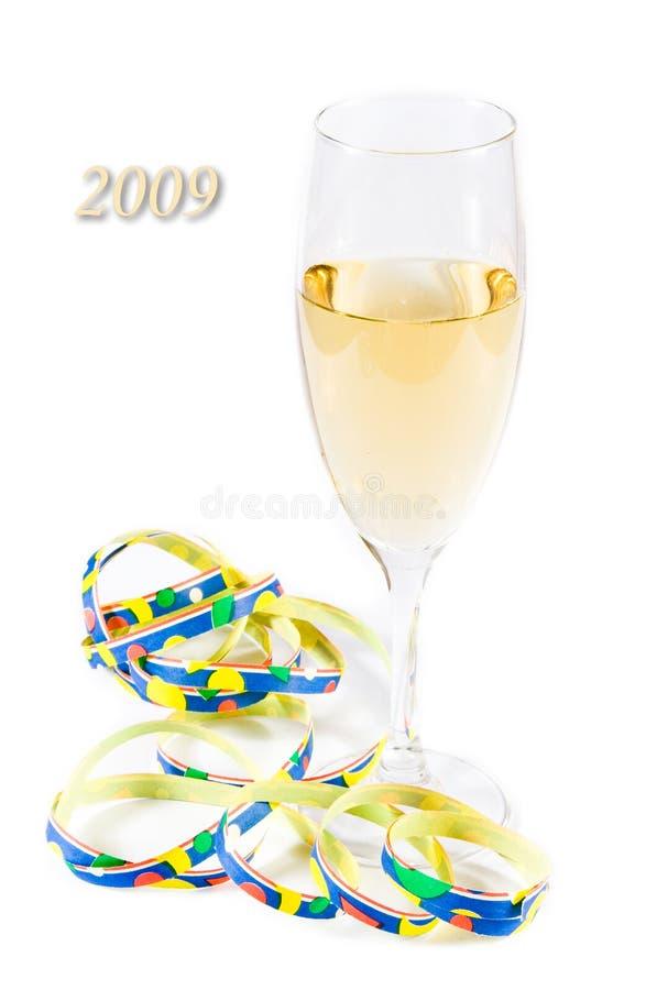 2009 szczęśliwych nowy rok fotografia royalty free
